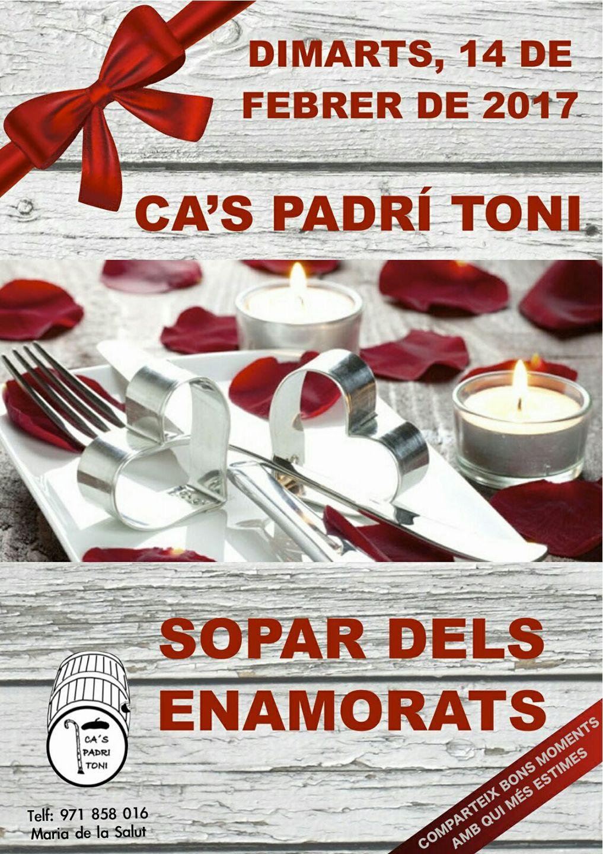 Cas Padri Toni - Sopar Dels Enamorats