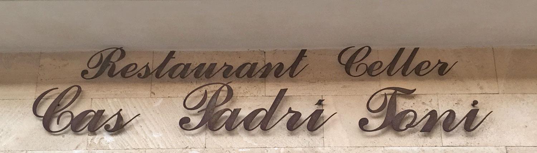 Restaurant Cas Padri Toni