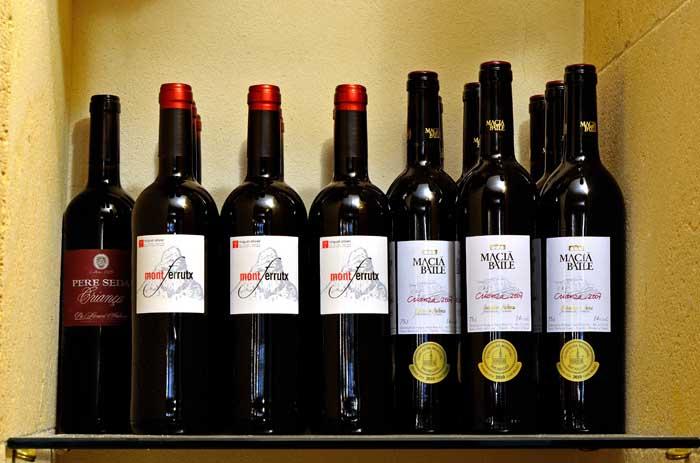 Restaurant Cas Padri Toni - Vins